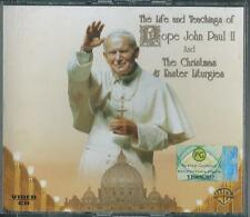 "Pope John Paul 11      ""The Life and Teachings Of""    2 Video CD Box Set EU"