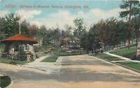 Birmingham Alabama~Stone Guard House @ Mountain Terrace Entrance~1914 Postcard