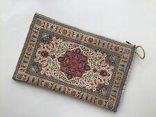 EMBRAGUE Con Estampado Floral Kilim, bolsa de almacenamiento de maquillaje de Bohemia, Ipad Tablet Case
