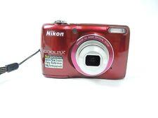 Nikon Coolpix L26 16.1 MP Digital Camera w/5x Zoom Red.