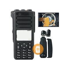 Black Full keypad Housing Case for Motorola Xpr7550e Xpr7580e Radio with Speaker