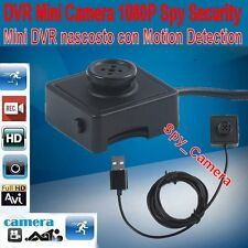 Micro camera HD 1080P DV Video Recorder Mini Spy Camera Spia Bottone Secuity DVR