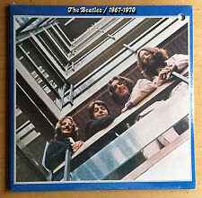 "BEATLES ""1967-1970"" 2-LP set ""BLUE ALBUM"" on CAPITOL + songs sticker ~ SEALED!"