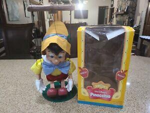 "Walt Disney's Pinocchio Singing Puppet Marionette. Telco Imagination 16""Tall Fig"