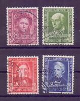 Bund 1949 - Wohlfahrt - MiNr. 117/120 rund gestempelt - Michel 170,00 € (634)