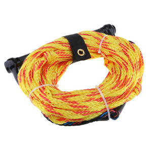 75ft Boat Wakeboard Water Ski Rope Tow Rope with EVA Floating Handle Random