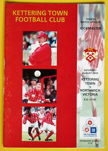 KETTERING TOWN v NORTHWICH VICTORIA 1992-1993