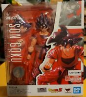 Bandai S.H. Figuarts Son Goku A Saiyan Raised on Earth Dragon Ball Super Figure