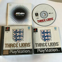 Three Lions / Complete / Playstation 1 PS1 PS2/PS3 / PAL / England Football