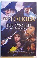 THE HOBBIT J. R. R. Tolkien ILLUS David Wenzel Graphic Novel PB 2001 1st Ed - A