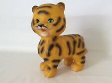 Vintage Rubber Squeak Toy * THE EDWARD MOBLEY CO * TIGER - 1965