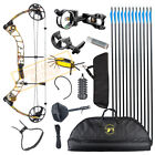 Topoint T1 15-70LB COMPOUND BOW & ARROW HUNTING TARGET ARCHERY RIGHT HANDED