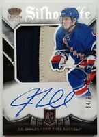 2013-14 Panini Crown Royale 54/99 J.T. Miller Auto-Jersey Card