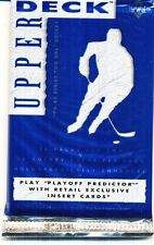 12 PACK LOT 1994-95 UPPER DECK CANADIAN BILINGUAL SERIES TWO HOCKEY