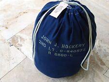 Us Army 2nd LT hockery m29 duffle Bag Barrack Bag m-1929 Navy marines USMC wk2