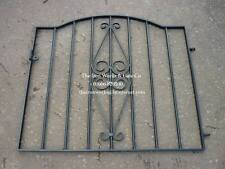 "# STROUD METAL GARDEN GATE 36"" op x 3ft H MADE TO MEASURE WROUGHT IRON BESPOKE"