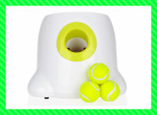 Dog pet toy Tennis Launcher Automatic throwing machine pet Ball device w/3 Balls