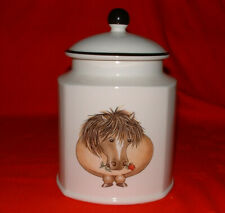 More details for arthur wood – horse/shetland pony back to front storage jar/container *free p&p*