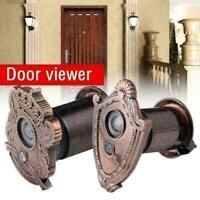 Vintage Tür Cat Eye Holes Weitwinkel-Türspion Viewer 220 ° Sicherheit