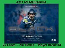 Peyton Manning Colts 2020 Panini Black Football 2X CASE 24x BOX BREAK #4