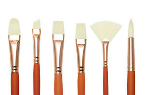 Royal & Langnickel Vienna Art & Craft Long Handled Oil & Acrylic Paint Brushes