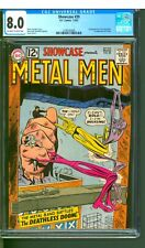 SHOWCASE #39 CGC 8.0  METAL MEN!  ONE OWNER!  SHARP HIGH GRADE! NICE OW/W PAGES!