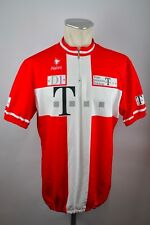 Team deutsche telekom radtrikot roja camiseta Cycling Jersey GR 8 XXL BW 62cm ca1
