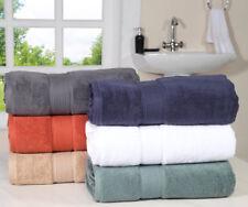 Zero Twist New Large Super Soft Absorbent Luxury Terry 650 GSM Cotton Bath Towel