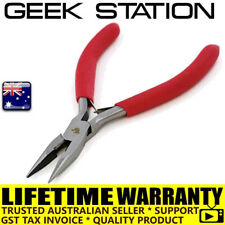 Needle Nose Wire Cable Cutter Cutting Plier Side Snip Flush Pliers Tool 5 inch
