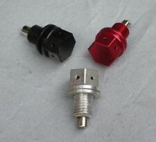 RARE EARTH MAGNETIC OIL DRAIN PLUG GY6 and SYM Scooter Color RED