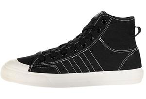 Adidas Originals Nizza Hi RF Men's Casual Shoes Black/White F34057