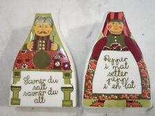 Figgjo Flint Turi Folklore    Salz- und Pfefferstreuer    Salt and pepper shaker