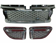 chrome grille+side vent kit Range Rover Sport 2005-09 Autobiography 2010 style