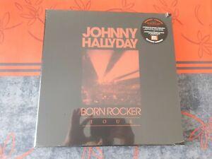 Johnny Hallyday Born Rocker Tour  Coffret Collector 5 LP Edition Limitée Scellé