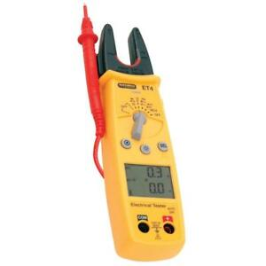 1 x Martindale ET4 Electrical Tester 200A AC/DC