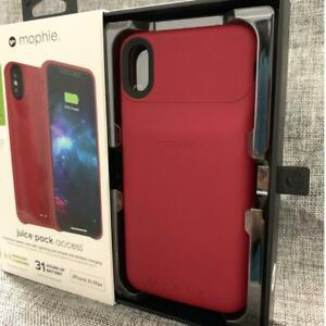 Mophie Juice Pack Access Ultra Slim Wireless Charging Case iPhone Xs Max (Red)
