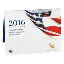 2016 United States Annual Uncirculated Dollar Coin Set (16RB)