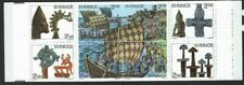 SLANIA: 1990 SWEDISH BOOKLET- Vikings SGSB426 MNH