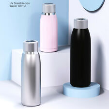 UV Disinfection Vacuum Water Bottle Hot Cold Thermal Insulated Flask Mug Cup