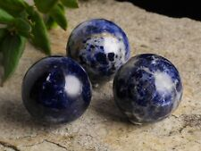 SODALITE Crystal Sphere - One Medium Sodalite Sphere with Stand E0162