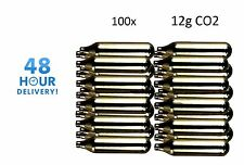 100 x Mosa 12g di CO2 GAS Capsula Cartuccia Aria Rifle Pistola fucile Airgun 12 g