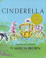 CINDERELLA by Marcia Brown FREE SHIPPING paperback children's book fairy tale