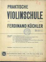 Ferdinand Küchler : Praktische Violinschule  Band 1 , Heft 2