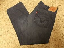 LEVIS 559 MENS BLUE JEANS 38 X 30 RELAXED  FIT -FREE SHIPPING