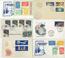 Early Worldwide 15 Pcs. Space Cover Collection