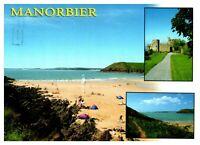 Postcard -  MANORBIER            (Ref C1)