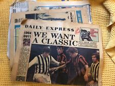 More details for 1968 onwards , great collection, west bromwich albion 10 newspapers & pages