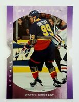 Wayne Gretzky Upper Deck Be A Player Lethal Lines LL2 St Louis Blues Oilers King