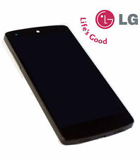 DISPLAY+TOUCH SCREEN+FRAME COVER per LG NEXUS 5 BLACK D820 OPTIMUS VETRO GOOGLE