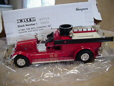 MONAGHAN TWP. PA. VOL.F.D. #67  THE FIRST ONE  ERTL FIRE TRUCK  SEAGRAVE # #9719